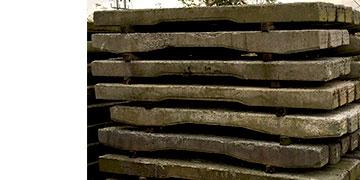 Reclaimed Concrete Railway Sleepers